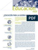 Educacion Para La Guerra o Para La Paz