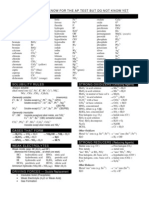 Chemistry Review Guide