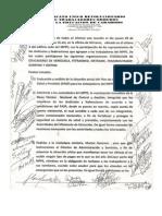 Acuerdo en Xcaracas Con Otros Sindicatos