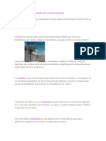 RELACIÓN DE LA ECOLOGÍA CON OTRAS CIENCIAS chiñas