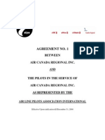 JAZZ ALPA Pilots Collective Agreement - REVISED CCAA