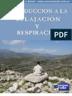 Introduccion Relajacion y Respiracion