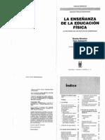 LECTURA 4 a. La Ensenanza de La Educacion Fisica 1