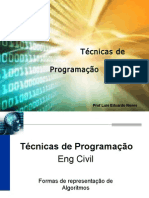 Aula7 - Formas de Representacao Algoritmos Eng Civil