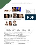 Access 3 Vocabulary Practice Unit 7