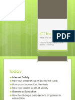 Parents Presentation for Internet Safety May 2012