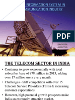 The Telecom Sector in India