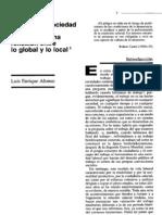 Alonso L E Crisis de La Sociedad Del Trabajo y Ciudadania 1999