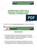 2.1 Perspectivas y Retos de La Industria Petrolera