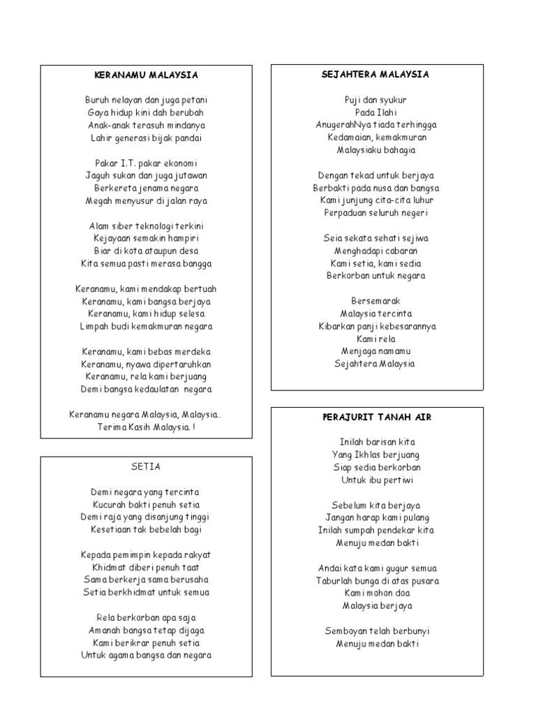 18869830 Lirik Lagu Patriotik
