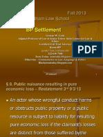BP settlement - introduction