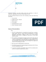 PRA 2012 Sub Re PCC Long Term Plan