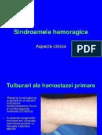 10. Sindroamele hemoragice