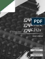Consola Potenciada Yamaha Emx 512