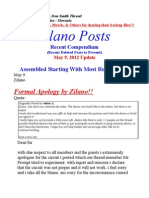 Zilano Update May 9 Update