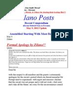 Zilano Update May 9 Update