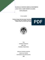 Studi Keterandalan Sistem Jaringan Distribusi Udara 20 kV Pada GH. Kandis