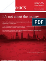 It's Not About the Money HSBC Middle East Report