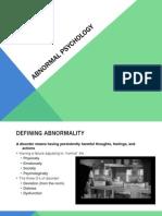 Abnormal Psychology 3