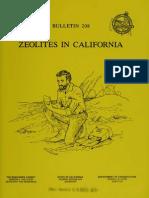 Stinson-Zeolites in California