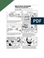 Combate Naval de Iquique en Comic