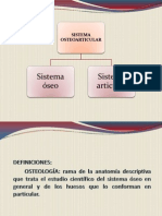 UNIDAD III Sistema Osteoarticular