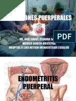 Infecciones Puerperales - Dr Zegarra