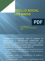 desarrollo social los niños