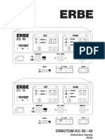 Erbe ICC-80-50 - User Manual