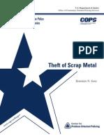 u.s. Dept of Scrap Metal Book