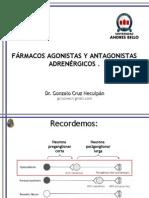 15- Fármacos agonistas y antagonitas adrenergicos (1)