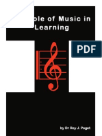 The Role of Music in Learning