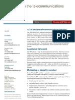 CommsAlliance ACCC Advertising Seminar Handout