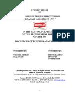 HR Training Britannia Shruti Project