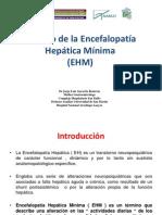 Manejo de la Encefalopatía Hepática Mínima