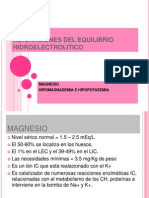 Alteraciones Del Magnesio