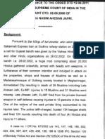 Indian Supreme Court SIT Closure Report exonerates Narendra Modi in 2002 Gujarat Riots case