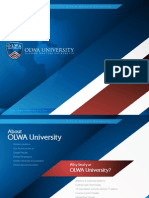 OLWA University – Education to Career