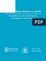 Guideline UK CKD in Adult