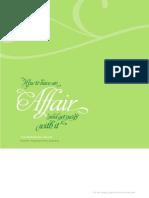 Affair User Guide