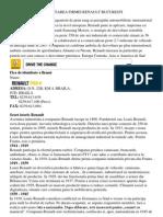 a Firmei Renault Bucuresti