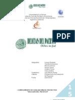 Informe Complementos de Evaluacion de Proyectos Final