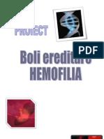 Proiect HEMOFILIA