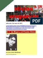 Noticias Uruguayas miércoles, 9 de mayo de 2012
