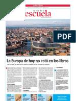 La Europa de hoy no está en los libros.La Voz de la Escuela 09.05.2012