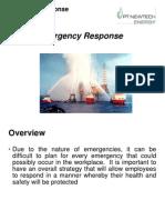 3.15.2Emergency Response
