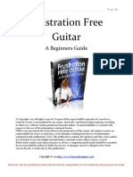 Frustration Free Guitar a Beginners Guide