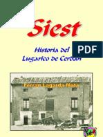 Siest. Historia del Lugarico de Cerdán.