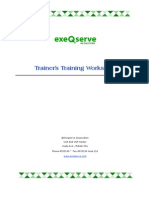 Trainer's Training Workshop