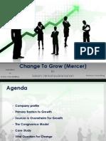 Mercer - Change to Grow